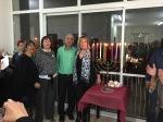 הדלקת נרות בנר גבורת הנשים מרחב ראשון לציון בהסתדרות