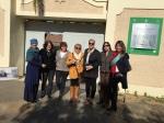 באתר הפרדסנות ברחובות, מפגש עם יועצות ברחובות